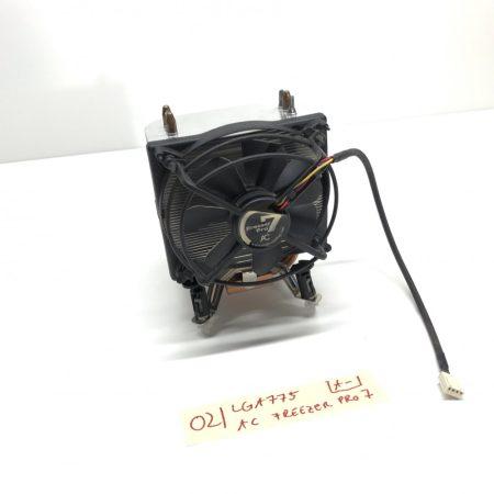 Arctic Cooling Freezer 7 Pro LGA775 3 hőcsöves processzor CPU Torony Hűtő