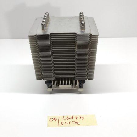 Scythe LGA775 5 hőcsöves processzor CPU Torony Hűtő Passzív csak a borda (12cm)