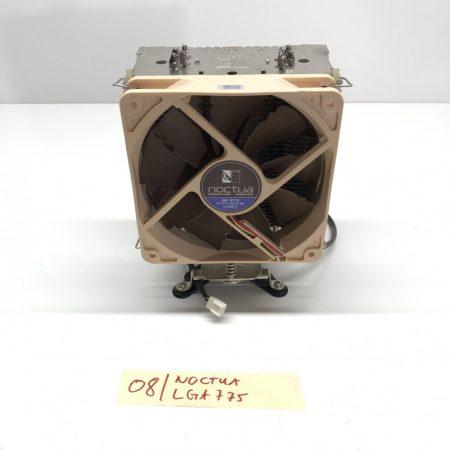 Noctua LGA775 4 hőcsöves használt processzor CPU Torony Hűtő 12cm NF-P12