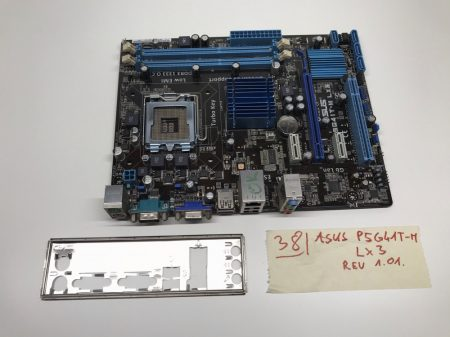 Asus P5G41T-M LX3 LGA775 használt alaplap DDR3 G41 Integrált VGA