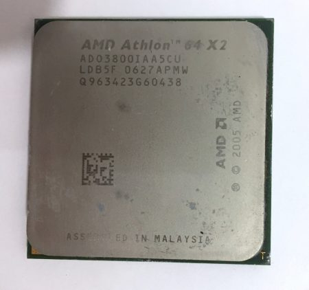 AMD Athlon 64 X2 3800+ 2,00GHz 2 magos AM2 Processzor CPU AD03800IAA5CU