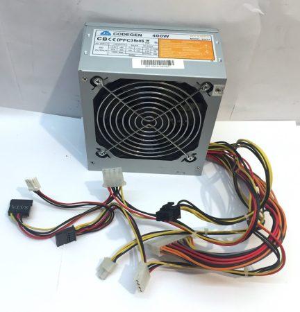 Codegen 400W használt tápegység PC TÁP 12cm 6 pin PCI-e VGA