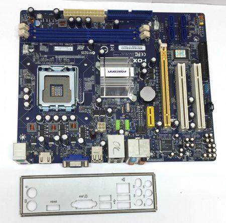 Foxconn M7PMX-S LGA775 használt alaplap Geforce 7100 DDR2 PCI-e integrált VGA HDMI