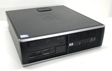 HP Compaq 6000 PRO SFF használt számítógép Core 2 Quad Q8300 2,50Ghz 4Gb DDR3 500Gb HDD DVD-RW