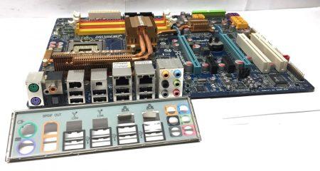 Gigabyte GA-X48-DS5 LGA775 használt alaplap DDR2 X48 chipset PCI-e 8db SATA