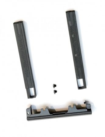 DELL Latitude E6540 HDD takaró beépítő keret + gumi sinek 7mm HDD-hez