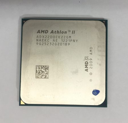 AMD Athlon II X2 220 2,8GHz AM2+ AM3 Processzor CPU ADX220OCK22GM