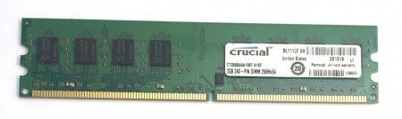 2Gb DDR2 1066Mhz memória Ram PC2-8500 Full kompatibilitás