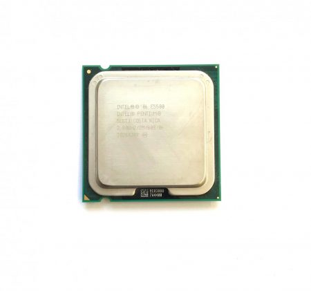 Intel Pentium Dual-Core E5500 2,80Ghz használt processzor CPU LGA775 800Mhz FSB 2Mb Cache SLGTJ