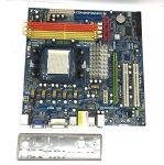 Asrock K10N78FullHD-hSLI  AMD AM2+ AM2 AM3 használt alaplap DDR2