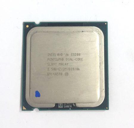 Intel Pentium Dual-Core E5200 2,50Ghz használt processzor CPU LGA775 800Mhz FSB 2Mb Cache SLAY7