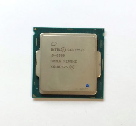 Intel Core i5-6500 3,60Ghz használt QUAD processzor CPU LGA1151 35W TDP SR2L6 6Mb cache 6. gen.