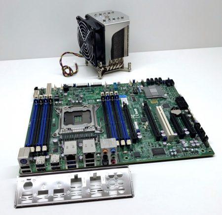 SuperMicro X9SRA LGA2011 használt alaplap + gyári hőcsöves hűtő SNK-P0050AP4