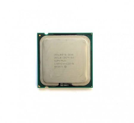 Intel Core 2 Duo E8300 2,83Ghz 2 magos használt processzor CPU LGA775 1333Mhz FSB 6Mb L2 SLAPN