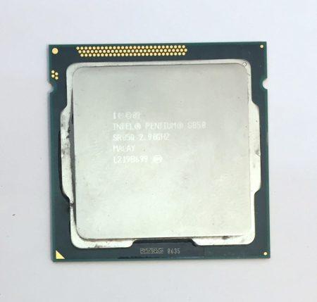 Intel Pentium G850 2,9Ghz 2 magos Processzor CPU LGA1155 3Mb cache 2. gen. SR05Q