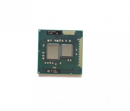 Intel Core i3-330M használt laptop CPU processzor 2,13Ghz G1 1. gen SLBMD