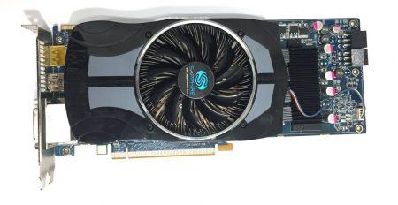 Sapphire Radeon HD 5850 1Gb HDMI GDDR5 256bit használt videokártya