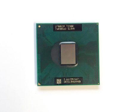 Intel Core Duo T2300 laptop processzor CPU 1,66Ghz 667Mhz FSB 2Mb L2 Socket M