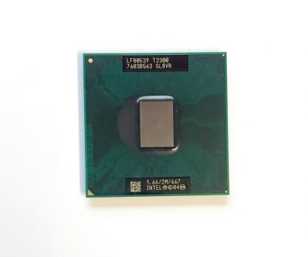 Intel Core Duo T2300 laptop processzor CPU 1,66Ghz 667Mhz FSB 2Mb L2 Socket M SL8VR
