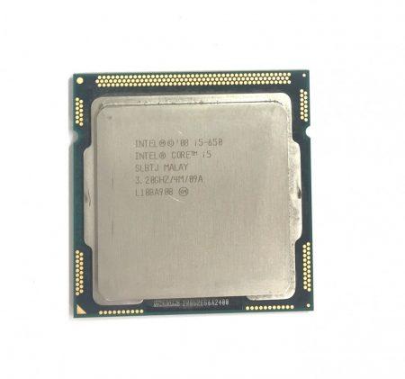 Intel Core i5-650 3,46Ghz Processzor CPU LGA1156 4Mb cache 1. gen. SLBTJ