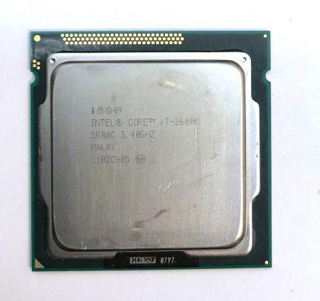 Intel Core i7-2600K 3,80Ghz 4 magos Processzor CPU LGA1155 8Mb cache 2. gen. SR00C