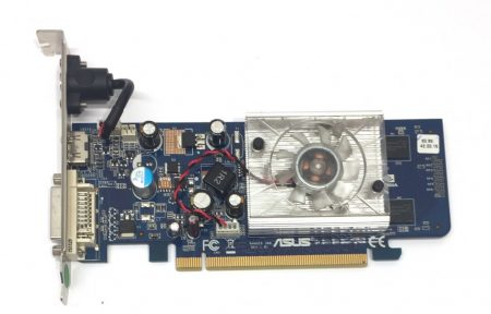 Asus Ranger 200 Nvidia GeForce 8400GS 256MBHDMI használt videokártya