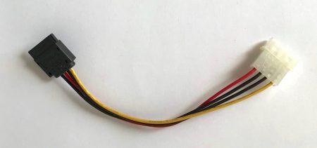 Molex SATA táp kábel átalakító