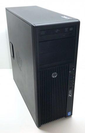 HP Z420 használt számítógép Xeon E5-1620 v2 (~i7-4770) 3,50Ghz 64Gb DDR3 240Gb SSD+ 750Gb HDD RX 570 4GB GAMING
