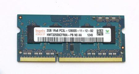 2Gb DDR3L 1600Mhz PC3L-12800 használt Laptop ram memória SO-DIMM 1.35V