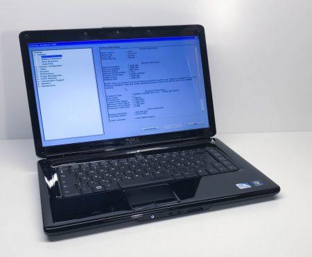"Dell Inspiron 1545 15,6"" használt laptop Core 2 Duo P8700 2,53Ghz 120Gb SSD 4Gb DDR2 Webkamera"