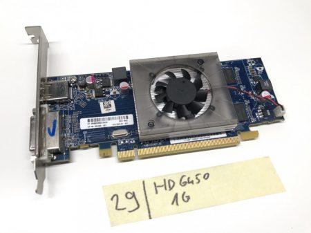 AMD Radeon HD6450 1GB GDDR3 64bit használt videokártya HDMI