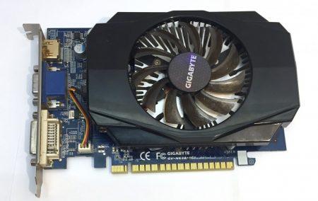 Gigabyte Geforce GT 630 1Gb 128 bit HDMI használt videokártya GV-N630-1GI