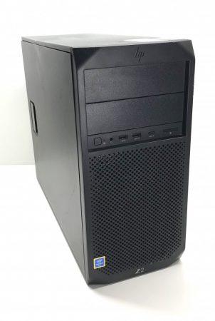 HP Z2 Tower G4 Workstation használt számítógép Intel Core i3-9100F 4,20Ghz Quad CPU 16Gb DDR4 256Gb M.2 SSD + 1000Gb HDD RX 460 4Gb