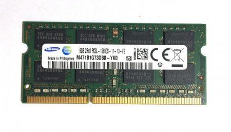 8Gb DDR3L 1600Mhz PC3L-12800 használt laptop notebook ram memória SO-DIMM 1,35V
