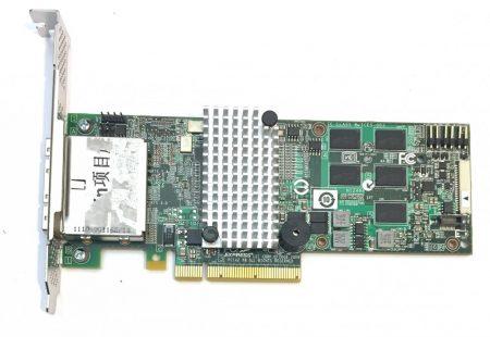 LSI MegaRAID SAS 9280-8e storage controller Vezérlő RAID - SATA-600 / SAS 2.0 - PCI Express 2.0 x8 Series