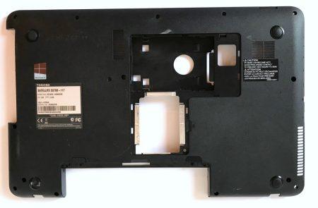 Toshiba C870D alsó fedél laptop műanyag ház burkolat C870D-117