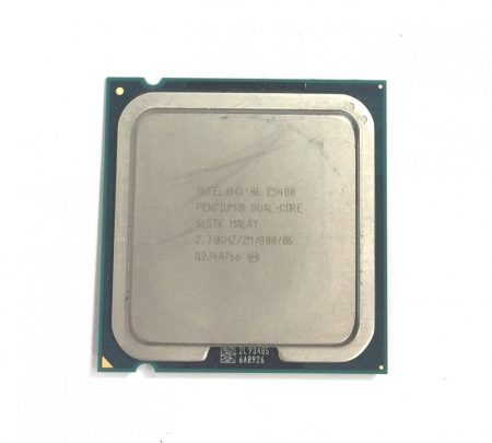 Intel Pentium Dual-Core E5400 2,70Ghz használt processzor CPU LGA775 800Mhz FSB 2Mb Cache SLGTK