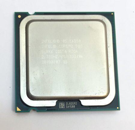 Intel Core 2 Duo E6550 2.33Ghz 2 magos Processzor CPU LGA775 1333Mhz FSB 4Mb L2 SLA9X