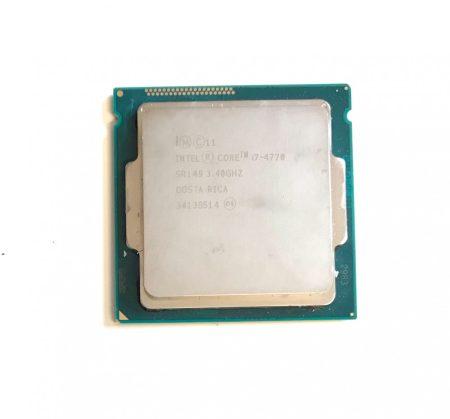 Intel Core i7-4770 3,9Ghz Quad Processzor CPU LGA1150 SR149 8Mb cache 4. gen.