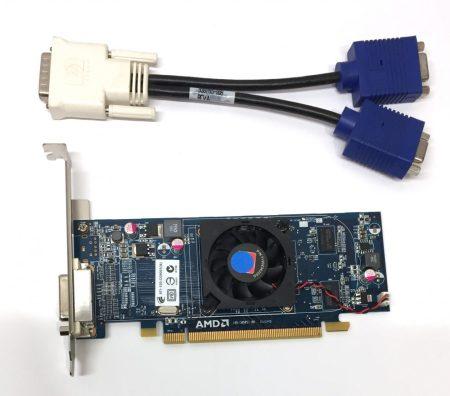 AMD Radeon HD 6350 512Mb DDR3 használt videokártya DMS-59 + Kábel