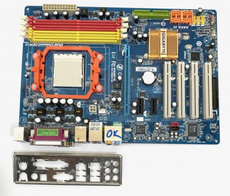 Gigabyte GA-M56S-S3 NVIDIA nforce 560 AM2+ AM2 használt alaplap DDR2