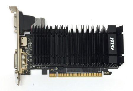 MSI nVIDIA GeForce GT 610 1Gb 64 bit HDMI használt videokártya