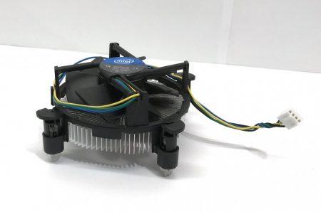 Intel gyári RÉZmagos processzor CPU hűtő LGA1156 LGA1155 LGA1150 alacsony profilú AL-CU