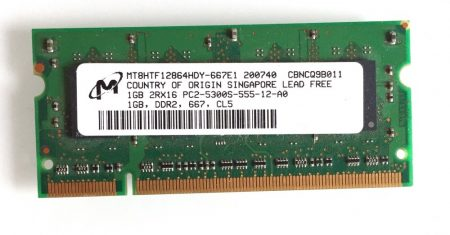 1Gb DDR2 667Mhz Laptop notebook memória RAM SO-DIMM PC2-5300