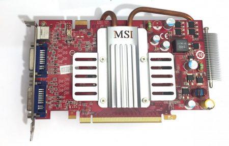 nVidia GeForce 8600 GT 256Mb GDDR3 128bit használt videokártya NX8600GT-T2D256EZ/D3