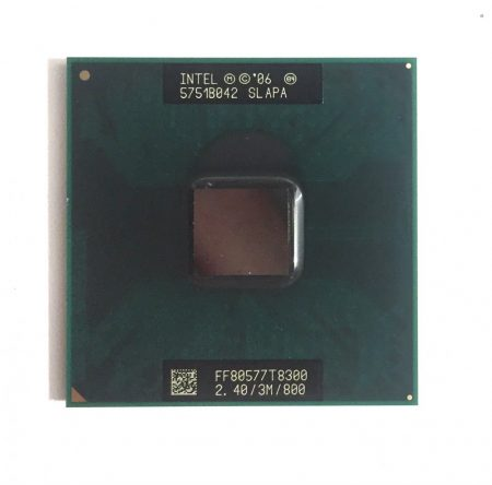 Intel Core 2 Duo T8300 laptop processzor CPU 2.40Ghz 800Mhz FSB 3Mb L2 Socket P 1év garancia SLAPA