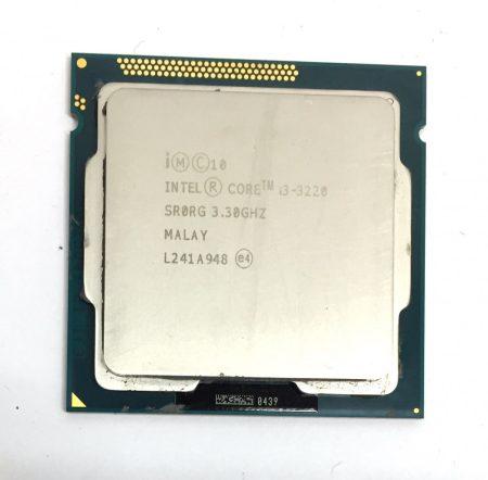 Intel Core i3-3220 3,30Ghz 2 magos Processzor CPU LGA1155 3Mb cache 3. gen. SR0RG