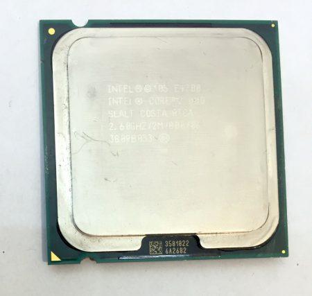 Intel Core 2 Duo E4700 2,60Ghz Processzor CPU LGA775 800Mhz FSB SLALT