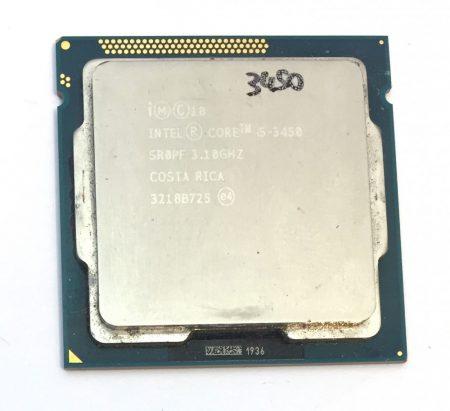 Intel Core i5-3450 3,50Ghz használt Quad processzor CPU LGA1155 6Mb cache 3. gen. SR0PF
