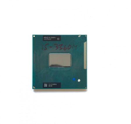 Intel Core i5-3360M használt laptop CPU processzor 3,50Ghz G2 3. gen. 3Mb Cache SR0MV